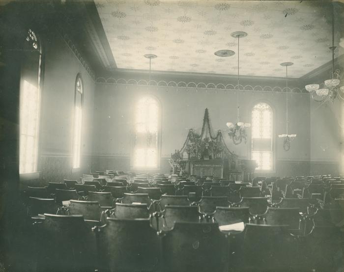 Swedenborgian Church, interior