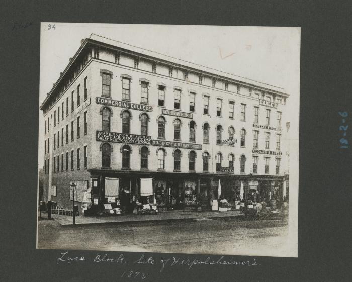 Luce Building, 1875
