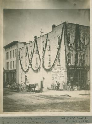 Horton & Stewarts grocery, 1876
