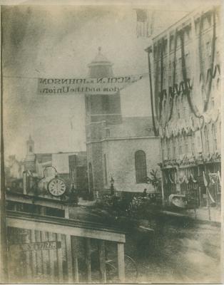 Monroe Center view, 1864