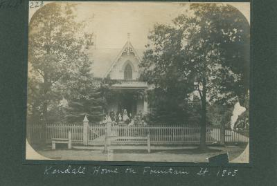 Kendall House, 1865