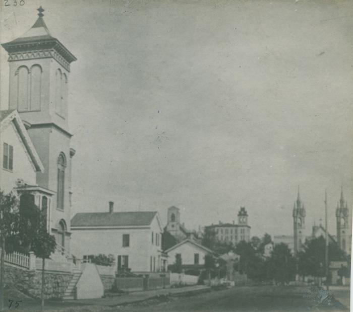 Pearl Street view, 1875
