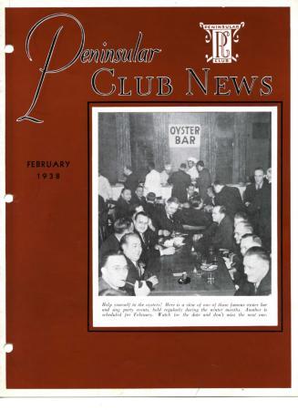 Peninsular Club News, February 1938