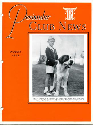 Peninsular Club News, August 1938