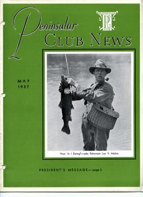 Peninsular Club News, May 1937