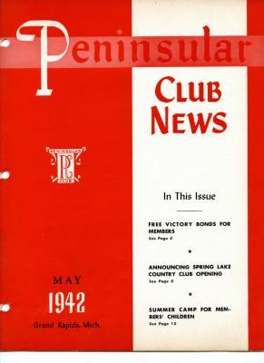 Peninsular Club News, May 1942