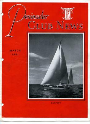 Peninsular Club News, March 1941