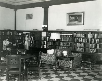 Ryerson Interiors, First Floor, Browsing Room
