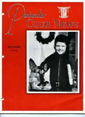 Peninsular Club News, December 1940