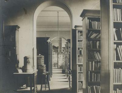 City Hall Library, corridor