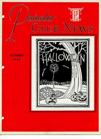 Peninsular Club News, October 1937