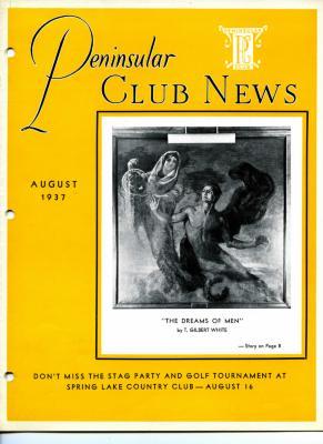 Peninsular Club News, August 1937