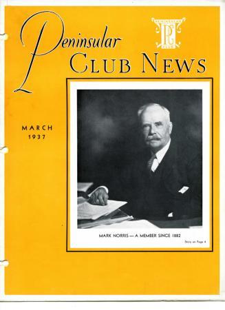 Peninsular Club News, March 1937