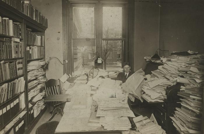 Ryerson Interiors, First Floor, Librarian's Office