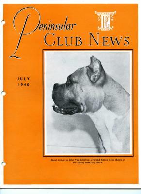 Peninsular Club News, July 1940