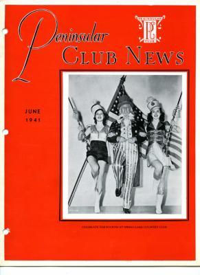 Peninsular Club News, June 1940