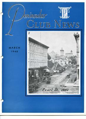 Peninsular Club News, March 1940