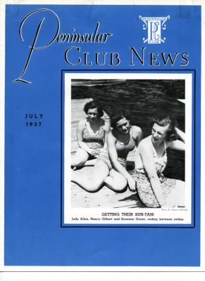 Peninsular Club News, July 1937