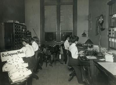 Ryerson Interiors, First Floor, Secretary's Office
