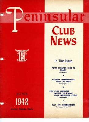 Peninsular Club News, June 1942