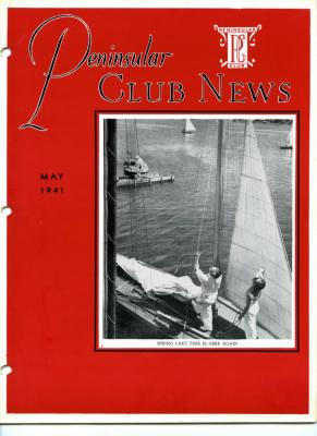 Peninsular Club News, May 1940