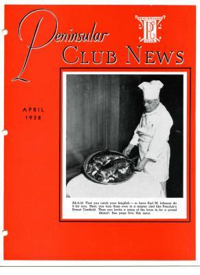 Peninsular Club News, April 1938