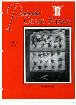 Peninsular Club News, April 1941