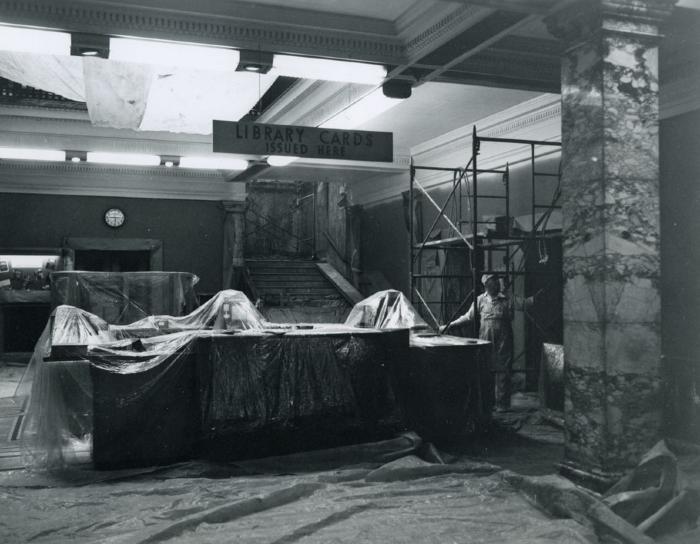 Ryerson Interior, 1963 Redecoration