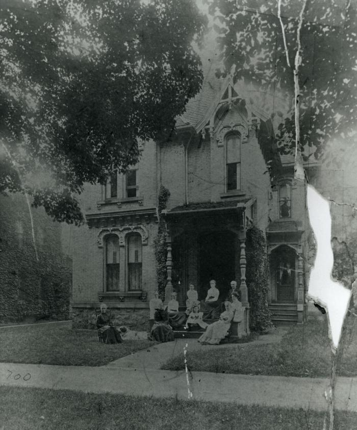 George R. Allen house