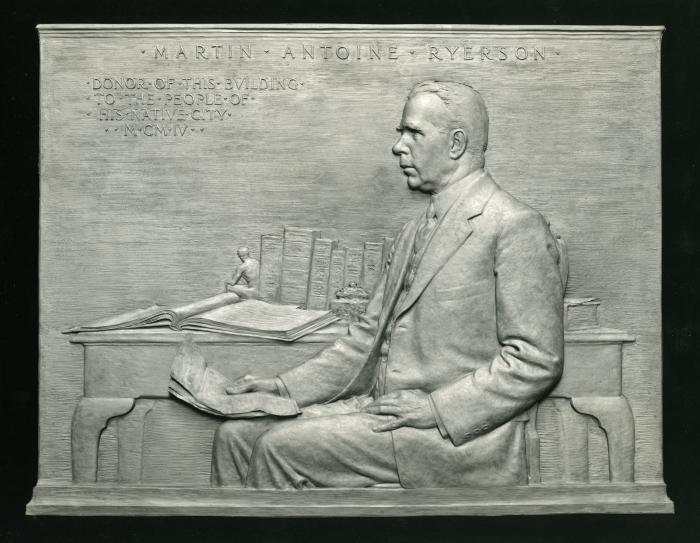 Martin Ryerson Plaque