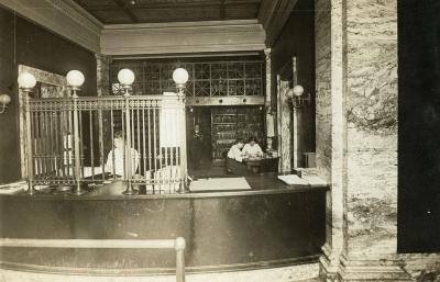 Ryerson Interiors, First Floor, Circulation Desk
