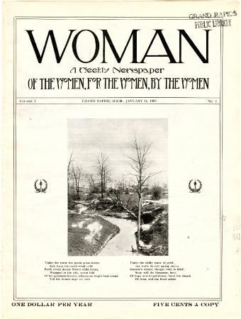 Woman, January 16, 1909