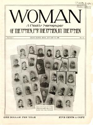 Woman, January 23, 1909