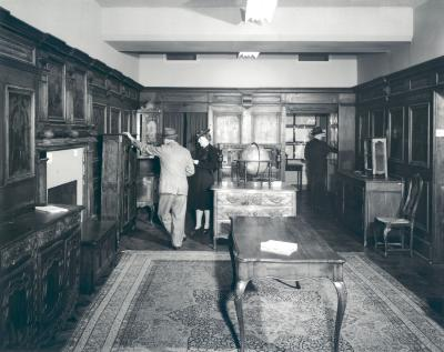 Interior of Baker Furniture Museum