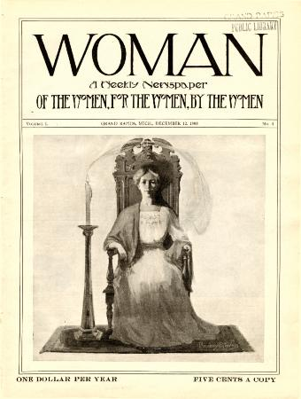 Woman, December 12, 1908