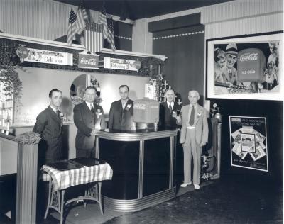 Coca Cola display at convention