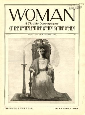 Woman, December 5, 1908