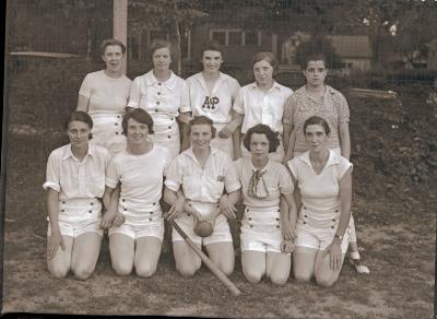 A & P Women's Softball Team