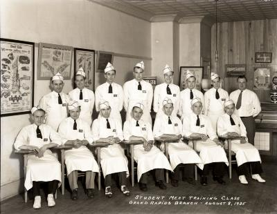 Kroger Butcher's Training School