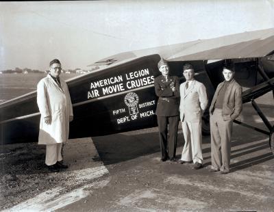 American Legion Air Movie Plane
