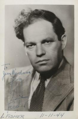 Presenter - Louis Fischer