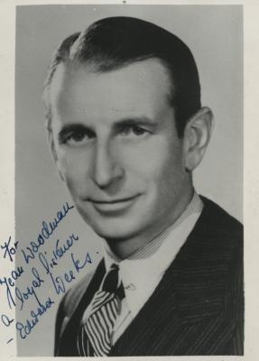 Presenter - Edward Weeks