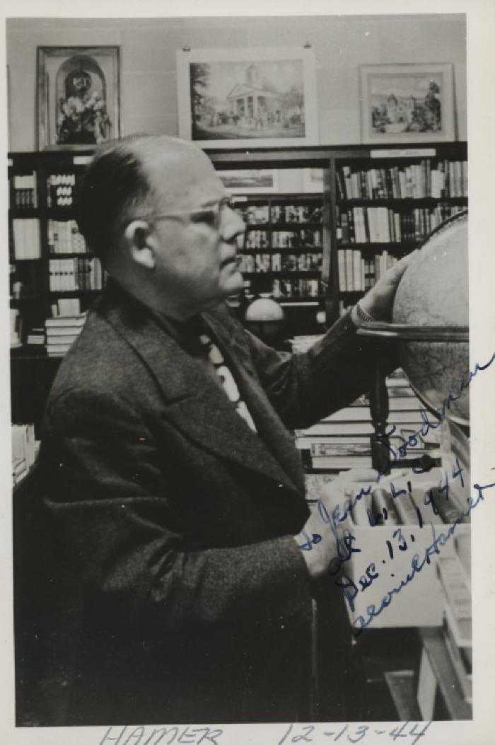 Presenter - Alvin C. Hamer