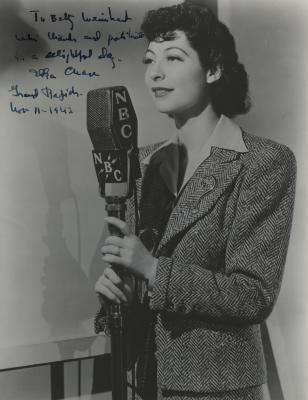 Presenter - Ilka Chase