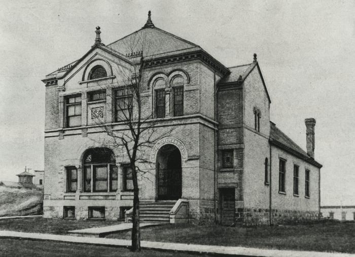 LLC Building Fall of 1888