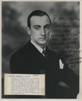 Presenter - Frederick Machetanz