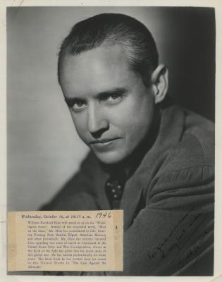 Presenter - William Bradford Huie