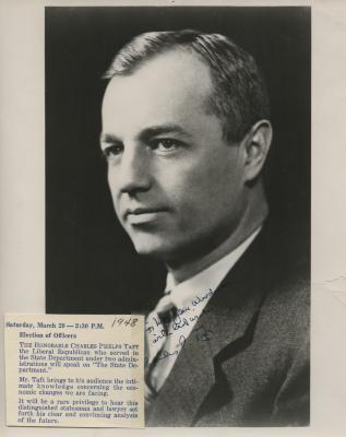 Presenter - Charles Phelps Taft