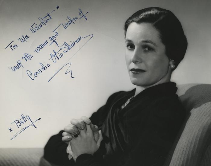 Presenter - Cornelia Otis Skinner