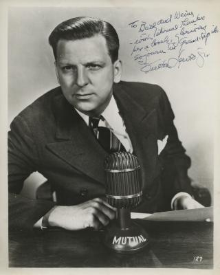 Presenter - Fulton Lewis, Jr.